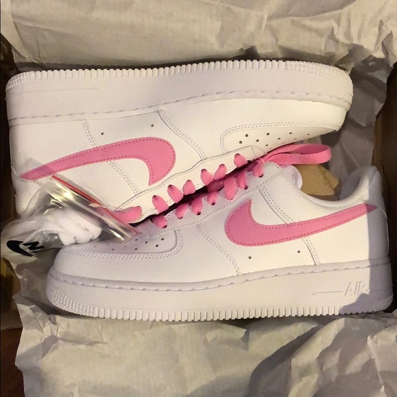 237177ed9 Nike Shoes | Womens Air Force 1 Psychic Pink | Poshmark